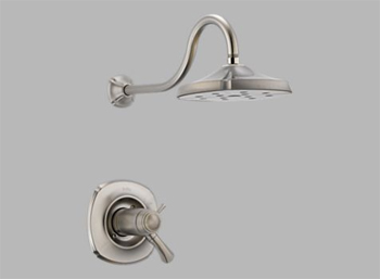 Delta T17T292-SS Addison TempAssure(R) 17T Shower Trim Brilliance Stainless