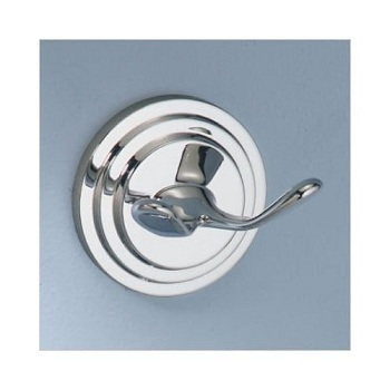 Gatco 5233 Marina Twin Robe Hook Chrome