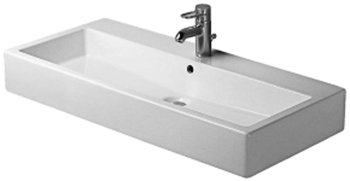 Duravit 04541000601 Vero Washbasin - White/WonderGliss