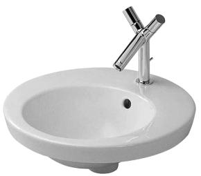 Duravit 047847.00.00 Starck 2 Vanity Basin Countertop Basin - White