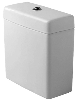 Duravit 0910100005 Happy D Toilet Cistern Tank Only - White