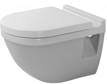 Duravit 2200090000 Starck 3 Wall Mounted Bowl - White