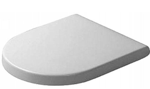 Duravit 0063810000 Stark 3 Universal Toilet Seat and Cover - White