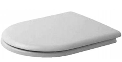 Duravit 006691-00-00 Universal Toilet Seat and Cover - White