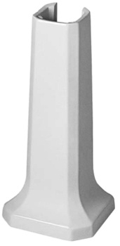 Duravit 085791 1930 Series Pedestal for washbasins 043860 - White