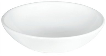 Elizabethan Classics ETV-WH English Turn Above Counter Lavatory Sink - White