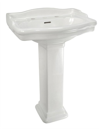 Pedestal Sinks - Home Bathroom Pedestal Sinks by Kohler, Porcher and ...