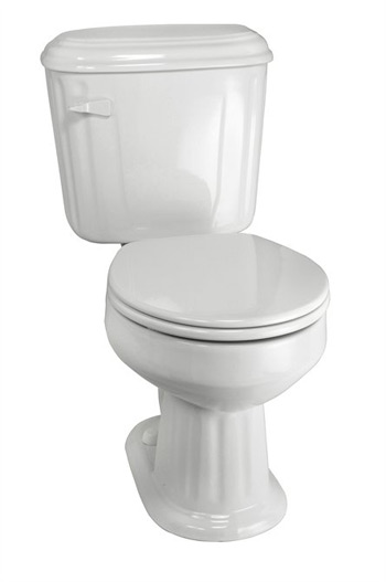 Elizabethan Classics ECABEL-BI Aberdeen Elongated Toilet - Bisque (Pictured in White)