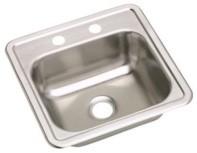 Elkay D115152 Dayton Single Bowl Sink - Stainless Steel
