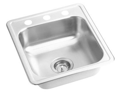 Elkay D117192 Dayton Single Bowl Sink - Stainless Steel