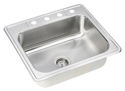Elkay DSE125224 Dayton Elite Single Bowl Sink - Stainless Steel