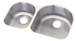 Elkay DXUH3119L Dayton Undermount Double Bowl Sink - Stainless Steel