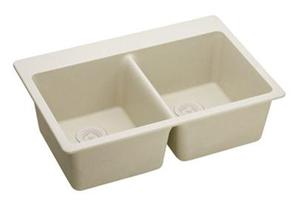Elkay ELG3322BQ0 Gourmet E-Granite Sink - Bisque