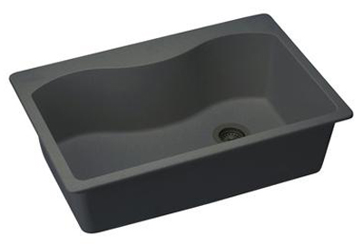 Elkay Elgs3322rbk0 Harmony E Granite Sink Black