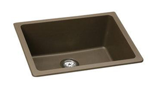 Elkay ELGU2522MC0 Gourmet E-Granite Undermount Sink - Mocha