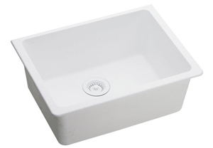 Elkay ELGU2522WH0 Gourmet E-Granite Undermount Sink - White
