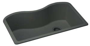 Elkay ELGUS3322RBK Harmony E-Granite Undermount Sink - Black