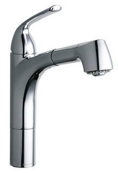 Elkay LKGT1041CR Gourmet Pull Out Kitchen Faucet - Chrome
