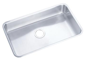 Elkay ELUH281612 Gourmet Lustertone Undermount Single Bowl Sink - Stainless Steel