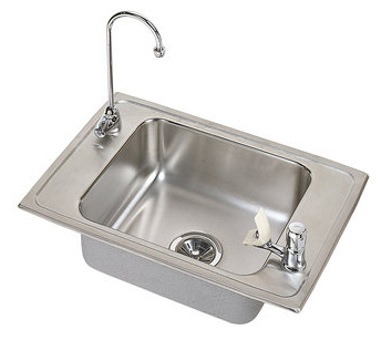 Elkay PSDKR2517VRC Single Basin Packmaker Classroom Sink - Stainless Steel