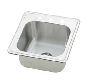 Elkay ESE2020103 Gourmet  Single Bowl Kitchen Sink - Stainless Steel