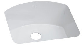 Elkay SWU211910WH Explore Single Basin Undermount Fine Fireclay Kitchen Sink - White