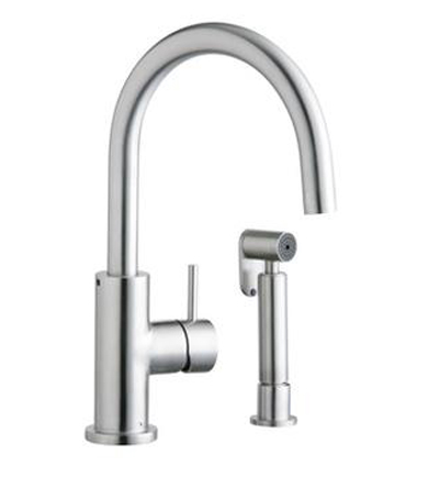 Elkay LK7922SSS Allure Single Handle Kitchen Faucet With Side Spray - Stainless Steel