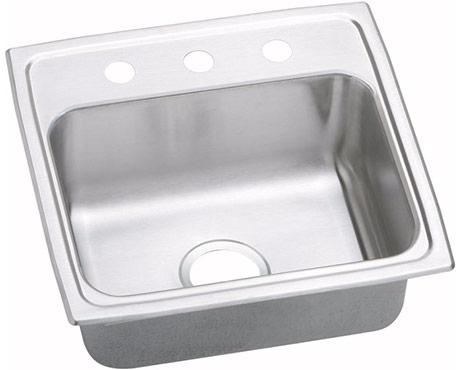 Elkay psr1918 3 gourmet pacemaker self rim single bowl - Kitchen sink rim ...