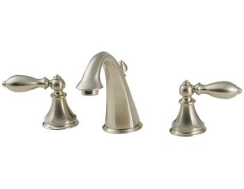Price Pfister F-049-E0BK Catalina 3 Hole Widespread Lavatory Faucet - Brushed Nickel