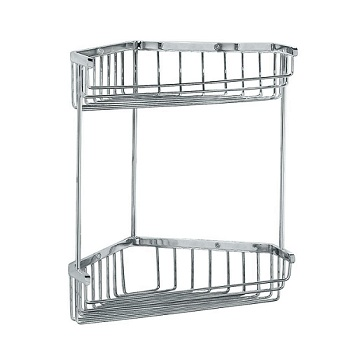 Gatco 1475 Tub and Shower Corner Caddy Chrome