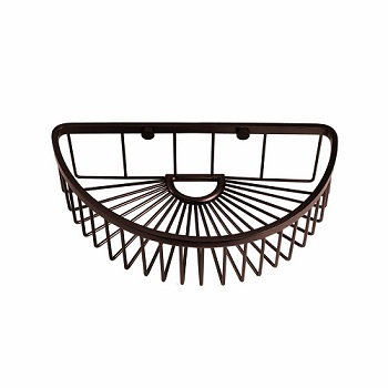Gatco 1575 Half Round Soap Basket Burnished Bronze