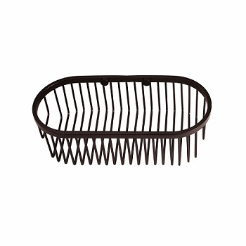 Gatco 1578 Oval Soap Basket Burnished Bronze