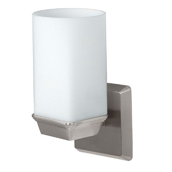 Gatco 1671 Philadelphia Single Sconce Satin Nickel