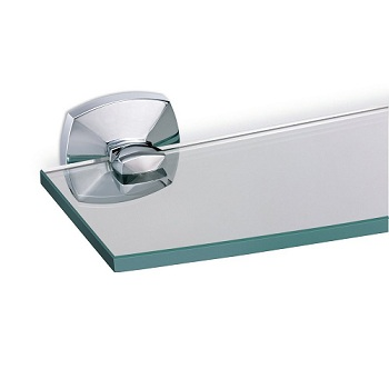 Gatco 4146 Jewel Glass Shelf Chrome
