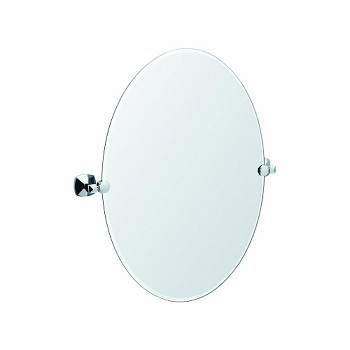 Gatco 4149 Jewel Oval Mirror Chrome