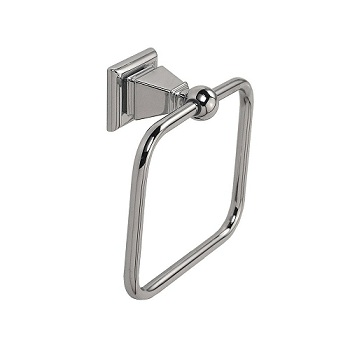 Gatco 4872 Philadelphia Towel Ring Chrome