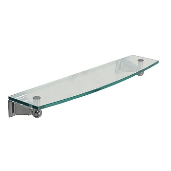 Gatco 4876 Philadelphia Glass Shelf Chrome