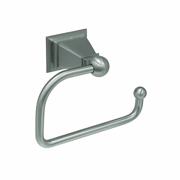 Gatco 4883 Philadelphia European Toilet Tissue Holder Satin Nickel