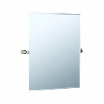 Gatco 4889S Philadelphia Rectangular Mirror Satin Nickel