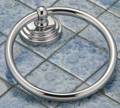 Gatco 5231 Marina Towel Ring Chrome
