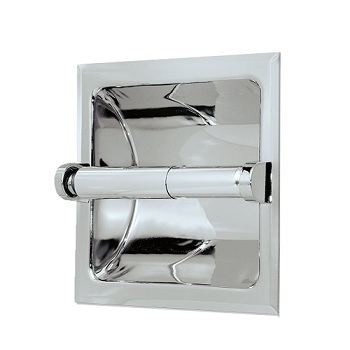 Gatco 782 Marina Recessed Toilet Tissue Holder Chrome