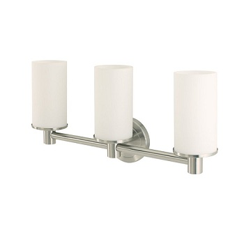 Gatco 1687 Latitude II Triple Sconce Satin Nickel