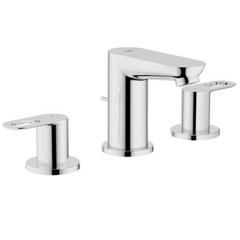 Grohe 20 225 000 Bauloop Double Loop Handle Widespread Lavatory Faucet - Chrome