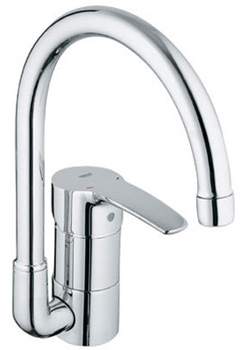 Grohe 33 986 001 Eurostyle High Profile Kitchen Faucet - Chrome