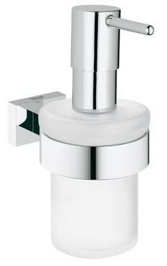 Grohe 40394000 Essentials Cube Soap Dispenser Only - Starlight Chrome