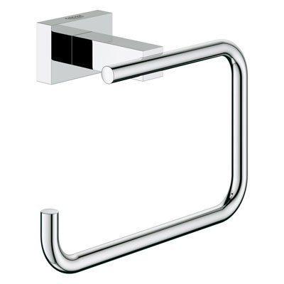 Grohe 40507000 Essentials Cube Tissue Holder - Starlight Chrome