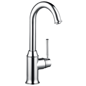 Hansgrohe 04217800 Talis C Bar Faucet - Steel Optik (Pictured in Chrome)