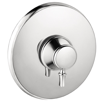 Hansgrohe 04223820 C Pressure Balance Trim - Brushed Nickel (Pictured in Chrome)