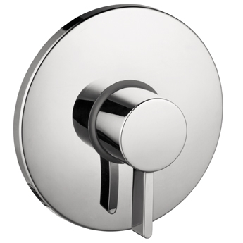 Hansgrohe 04233820 S Pressure Balance Trim - Brushed Nickel (Pictured in Chrome)