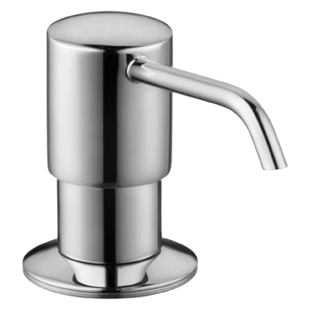 Hansgrohe 04249800 E/S Kitchen Soap Dispenser - Steel Optik (Pictured in Chrome)